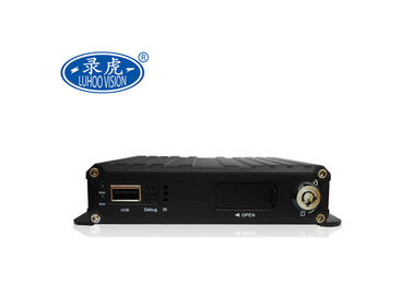 China 4 Channel Cameras Bus Truck AHD Mini SD Card Mobile DVR Support GPS 3G4G supplier