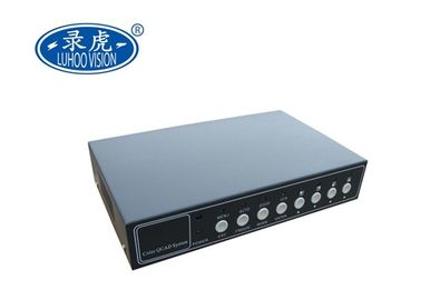 China Professional 4 Channel CCTV Color Quad Processor 8Ch NTSC PAL HD Screen Splitter supplier