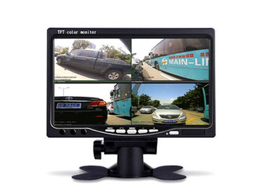 China DC12V 24V 4 Channel Car TFT LCD Monitor 7 Inch 4CH Split Quad LCD Screen Display supplier