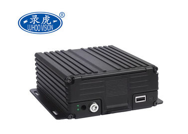 China Professional 720P Resolution HDD Mobile DVR 3G 4G GPS 4CH AHD For Bus Truck Van factory