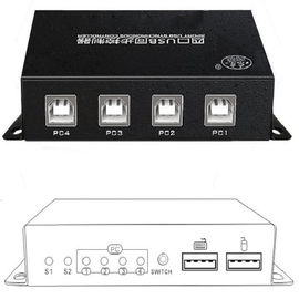 China 4 Port USB KM Switch Synchronizer Keyboard And Mouse Simultaneously Controls distributor