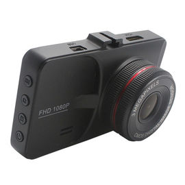 China 3 Inch Full HDcar Dashboard Camera , 1080P Front And Rear Dash Cam Built - In G - Sensor factory