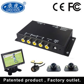 China High Performance Mobile Cctv Camera System , Full HD 4 Channel Vehicle DVR factory