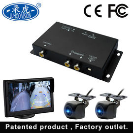 China 2 Channel Vehicle Security Camera System Mini Car DVR 1280 720P Resolution factory