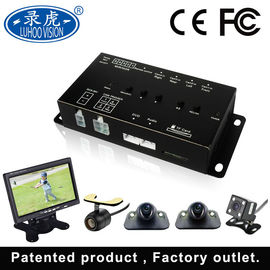 China Vehicle DVR Camera System , 4 Channel Car Camera System 170 Degree View Angle distributor