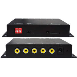 China 4 CH Vehicle Security Camera System Support Night Vision VGA Video Resolution distributor
