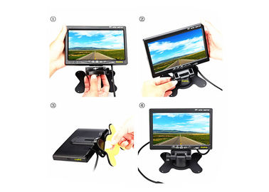 China High Resolution 5 Inch Car TFT LCD Monitor Bracket Rear View Car Video Display factory