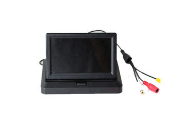 China Universal HD 5 Inch Color Car TFT LCD Monitor Foldable Rearview StandAlone Monitor factory