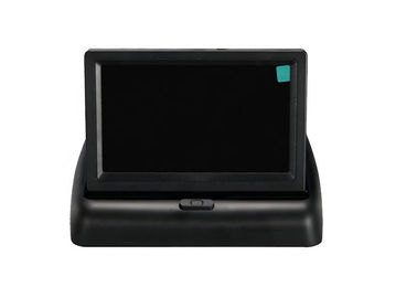 China 4.3 Inch Foldable Car TFT LCD Monitor Backup Rearview Video Display distributor