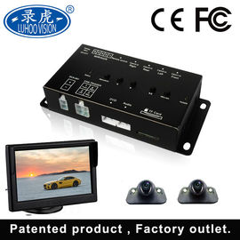 China Intelligent Control 4 Channel Car DVR Recorder For Bus Taxi Truck Vehicle distributor