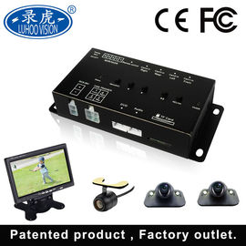 China 4 Inputs Mobile DVR System , Light Weight Vehicle 12v DVR Recorder factory