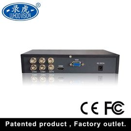 China TVI CVI CCTV 4CH Color Quad Processor With High Performance Freeze / Zoom Function distributor
