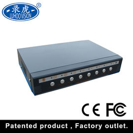 China High Resolution CCTV Color Quad Processor HDMI/VGA Output Real Time factory