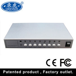 China Camera CCTV Quad Multiplexer , Vehicle 4 Channel Video Quad Processor factory