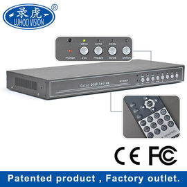 China Camera Real Time Color Quad Processor , OEM 4 Channel Video Multiplexer factory