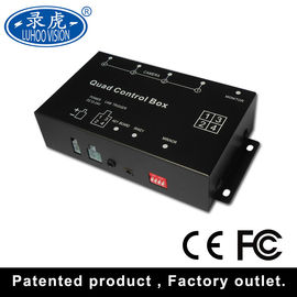 China High Resolution Vehicle Black Box DVR With 4CH Input 720×576 Overload Protection distributor