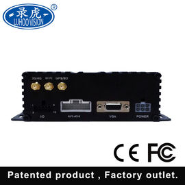 China Vehicle Blackbox HDD Mobile DVR With Hisilicon Chipsets 4CH AV Inputs distributor