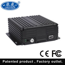 China Real Time Vehicle DVR Camera System / 4 Channel Vehicle DVR H.264 Compression distributor