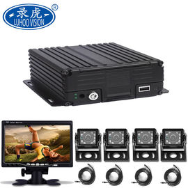 China 4CH AHD HDD Mobile DVR For Vehicle 720P /960H/D1/CIF Image Resolution distributor