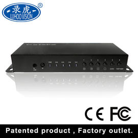 China Remote Control Video Quad Multiplexer , Real Time Cctv Video Switcher distributor