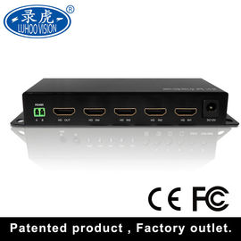 China Multi Channel CCTV Color Quad Processor Scaler Up , Scaler Down Function distributor